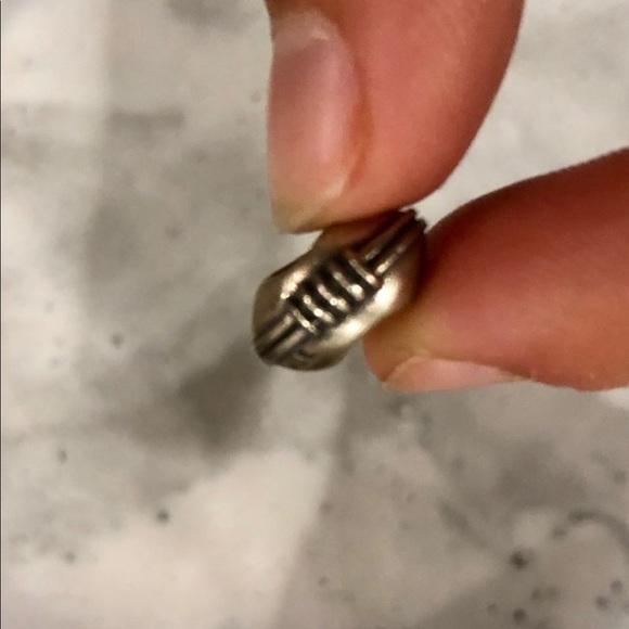 "Pandora Jewelry - Authentic pandora ""football"" bead"